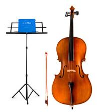 Violoncello and Music Score & Stand