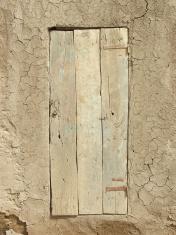 Wooden Door in Djenne (Mali)