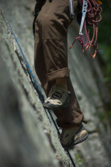Rock climbing in the Shawangunks