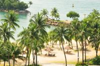 Beach Resort on Sentosa Island, Singapore