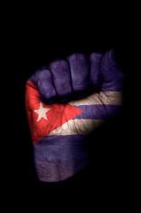 Cuban Flag Fist