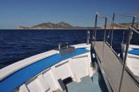 Boat at the coast of Majorca, Spain