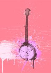 Banjo Grunge Design