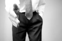 Businessman Shaking Hands