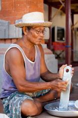 Balinese Food Preparation