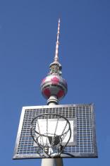 radio tower in basket