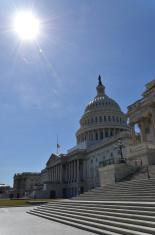 Sun over Capitol Hill