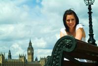 Woman Tourist In London
