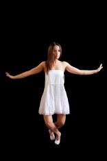 Balerina's dance routine