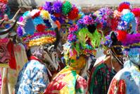 Carnival masks in Mexico