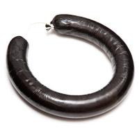 Black pudding or blood sausage ring