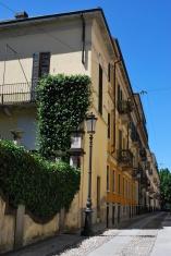 Small alley, Novara