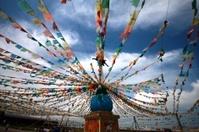 china qinghai lake Tibetan Buddhism