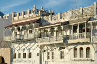 Oman, Muscat old buildings