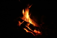 Campfire Warm and Cozy Flames