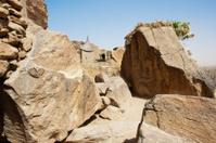 The Bandiagara Escarpment, Mali (Africa).