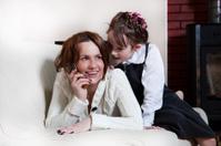 conversation between mother and daughter