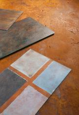 Coating of iron