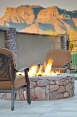 Fireside Mountain View Seating