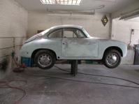 Sports Car in Garage