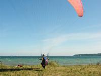 Landing on Beach