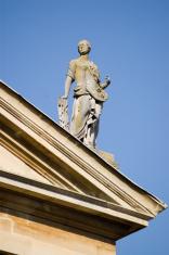 Law Statue, Queen's College, Oxford