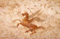 Ancient Roman Wall  Painting