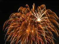 Feathery fireworks