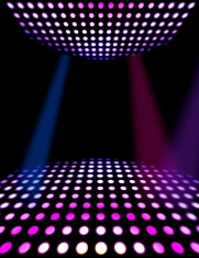 Dance Floor Disco Poster Background Party