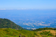 Top of mountain, Phu Tabberk, Phetchabun Province,Thailand.