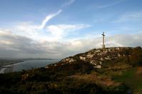 Hilltop Cross and Ocean