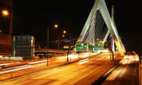 The Zakim Bridge in Boston.