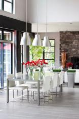 Modern Dinning room.