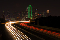 Dallas Texas at Night