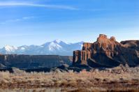 Canyonland in winter