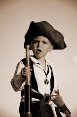 Pirates Be Comin' (Sepia)