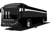 Coach Bus - Vector