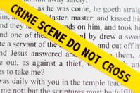 Garden Of Gethsemane Scripture Crime Scene