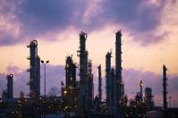 Oil Refinery at Dawn