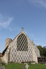 Barsham church,Suffolk