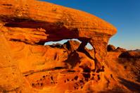 Mojave Desert Red Rocks Sunrise Landscape
