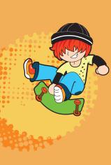 skater little boy