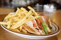 Delicious club sandwich