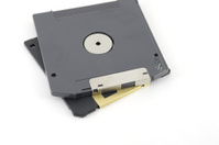 ZIP and floppy disks