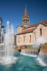 Church in Lalín (Galicia, Spain)