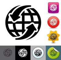 Around the world icon   solicosi series
