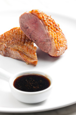 fried duck breast