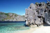 Philippines, Palawan, El Nido, island.