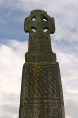 celtic carved cross, Ireland