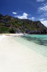 Philippines, Palawan, El Nido, beach.